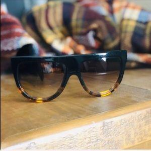 Céline Flattop AVIATOR Sunglasses IN ACETATE